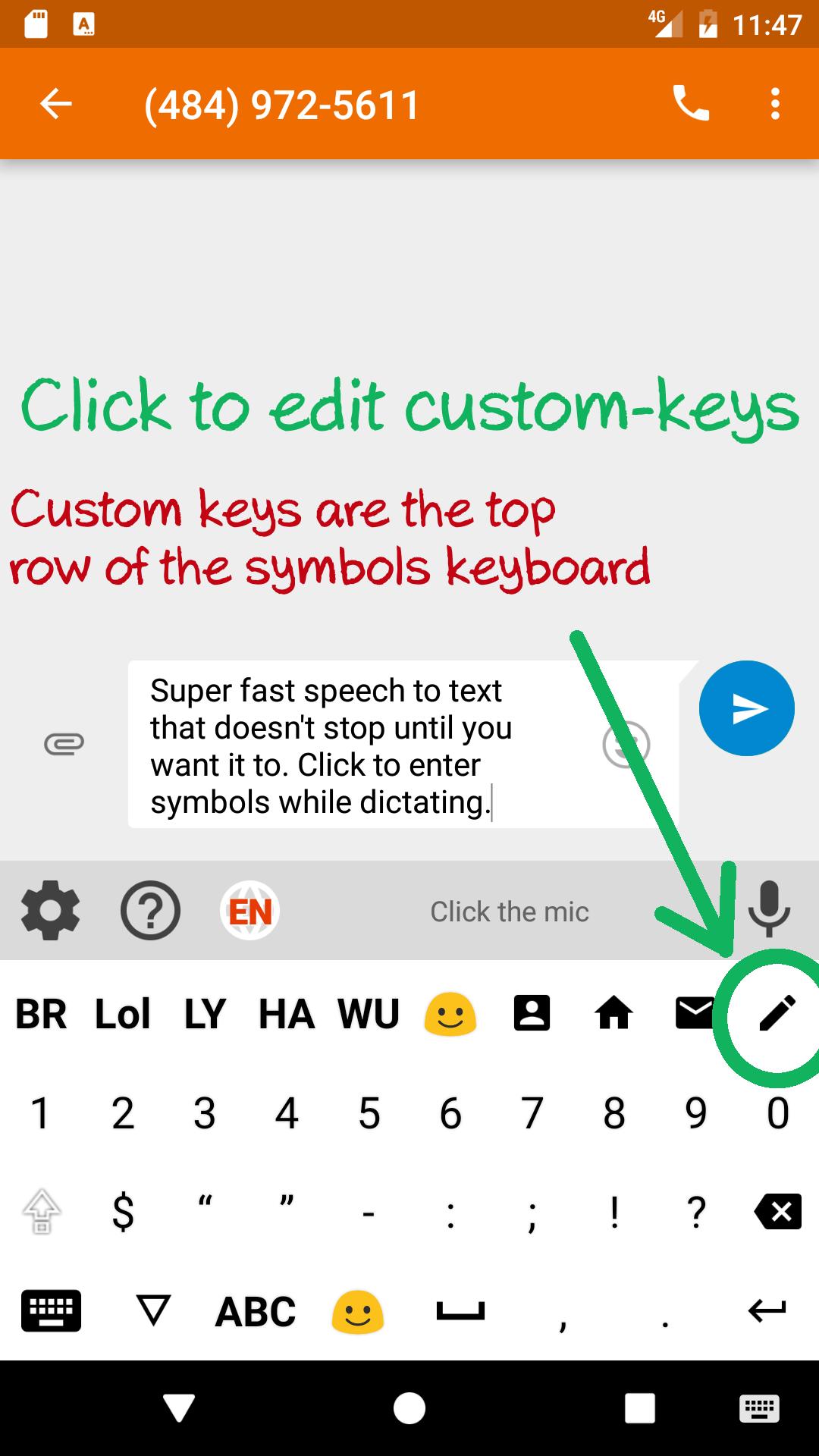Speechkeys voice typing keyboard previous next biocorpaavc Choice Image